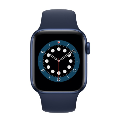 APPLE 【S6GPS】AW40MM BLアルミ/ディープネイビーSP MG143J/A(APPLE WATCH S6 40 BLU AL NAVY SP GPS)