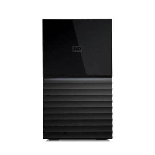 WESTERN DIGITAL My Book Duo デスクトップRAIDストレージ WDBFBE0240JBK-JESN