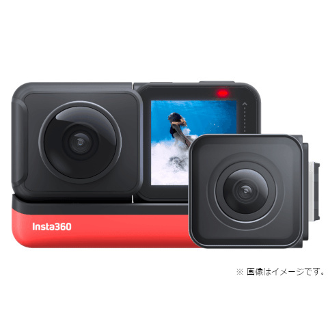 Arashi Vision ウェアラブルカメラ Insta360 ONE R Twin Edition CINAKGP/A