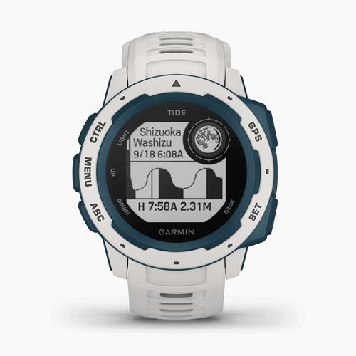 GARMIN スポーツウォッチタイプ GARMIN 010-02064-A2 Instinct Tide White/Blue