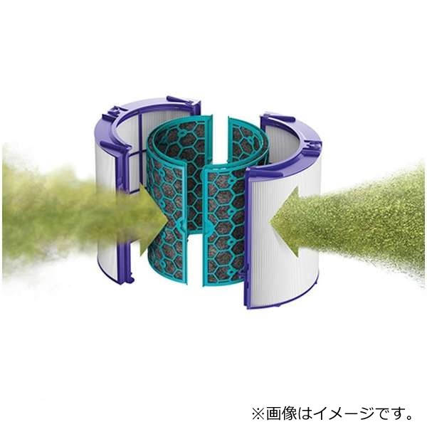 DYSON Pure HOT Cool Link 空気清浄ファンヒーター HP04WS