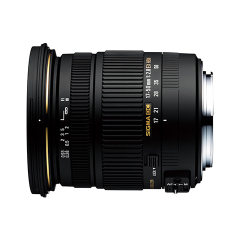SIGMA 交換用レンズ ニコンFマウント 17-50mm F2.8 EX DC OS HSM(ニコン)