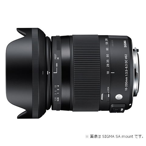 SIGMA 交換用レンズ ニコンFマウント 18-200mmF3.5-6.3DC MACRO OS HSM(ニコン)