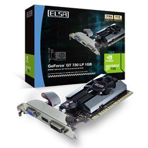 ELSA ELSA GeForce GT 730 LP 1GB GD730-1GERL