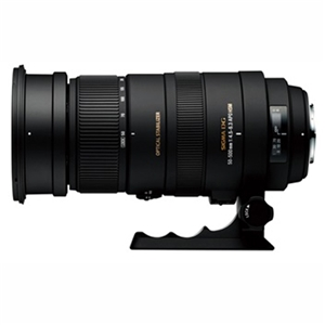 SIGMA 交換用レンズ ニコンFマウント APO 50-500mm F4.5-6.3 DG OS HSM (ニコン)