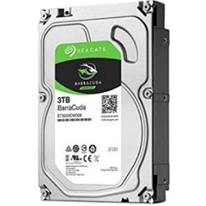 SEAGATE 3.5インチ SATA HDD(3TB) BarraCuda ST3000DM007