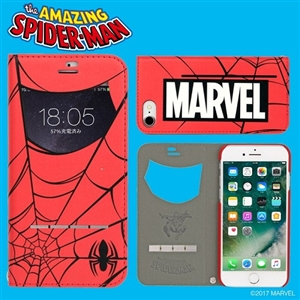 Hamee iPhone8/iPhone7用ケース 276-885116MARVELSP