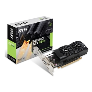 MSI GeForce GTX 1050 Ti 搭載グラフィックボード GeForce GTX 1050 Ti 4GT LP