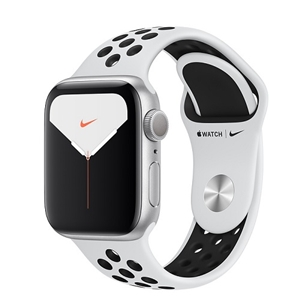 APPLE 【S5NIKE+GPS/CEL】AW40MM SLP/BKS MX3C2J/A(APPLE WATCH N S5 40 SIL AL PB SP CEL)