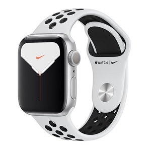 APPLE 【S5NIKE+GPS】AW40MM SLP/BKS MX3R2J/A(APPLE WATCH N S5 40 SIL AL PB SP GPS)