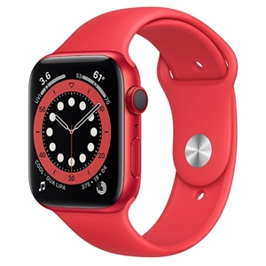 APPLE 【S6GPS/CEL】AW44MM REDアルミ/REDSP M09C3J/A(APPLE WATCH S6 44 RED AL RED SP CEL)