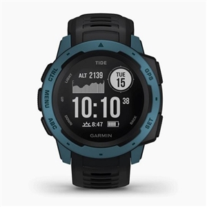 GARMIN スポーツウォッチタイプ GARMIN 010-02064-B2 Instinct Tide Black/Blue