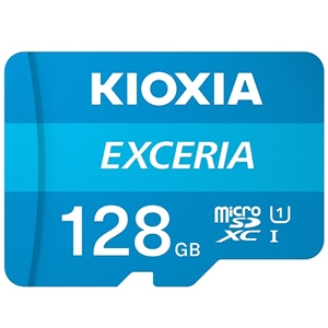 KIOXIA マイクロSDXCカード KMU-A128G
