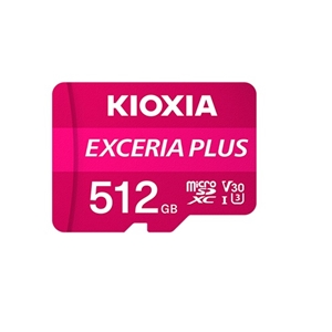 KIOXIA 高速マイクロSDXCカード KMUH-A512G